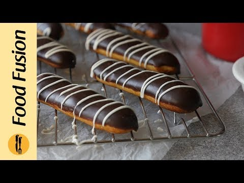 Chocolate Eclairs Recipe By Food Fusion