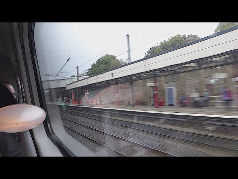 Passing Lancaster on a Virgin Trains 'Pendolino' (26/9/16)