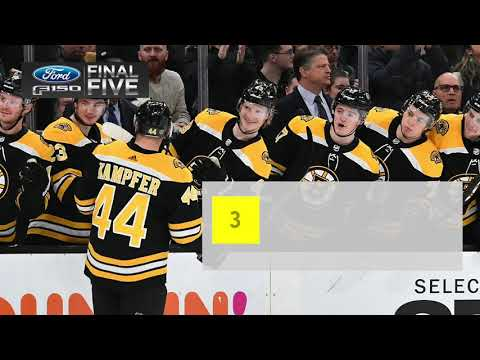 Video: Ford Final Five: Eichel, Skinner score twice as Sabres down Bruins