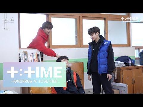 [T:TIME]Cute trick on sleeping boy! - TXT (투모로우바이투게더)