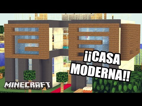 Casas modernas minecraft videos videos relacionados for Casas modernas minecraft faciles