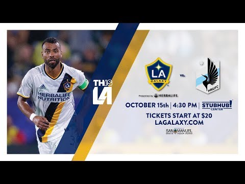 Video: TEASER: LA Galaxy vs. Minnesota United FC | October 13th, 2017