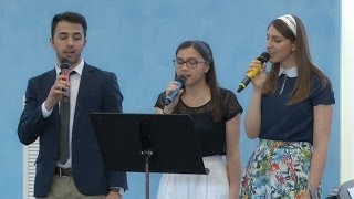 Sabina, Alex si Rebeca – Domnul meu Lumina mea
