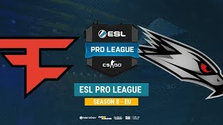 FaZe vs AGO - ESL Pro League S8 EU - bo1 - de_train [Anishared]
