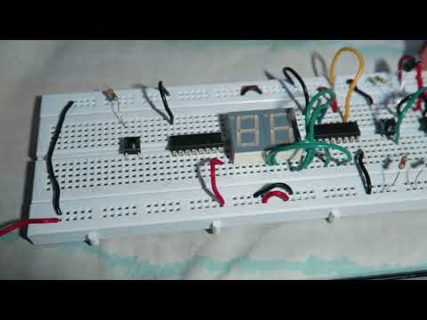 7 Segment counter using 4026 IC and 555 timer IC