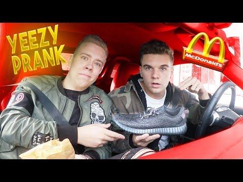 McDonalds PRANK | Mit Original YEEZYS bezahlen | FLEX IT