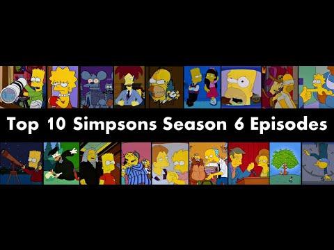 Top 10 Simpsons Season 6 Episodes