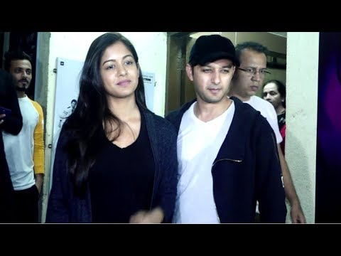 Newly Married Couple Vatsal Sheth & Ishita Dutta Spotted At Pvr Juhu