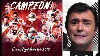 CONMOVEDOR  RELATO DE COSTAFEBRE LLORANDO  RIVER CAMPEÓN DE AMÉRICA CONTRA BOCA 3 a 1