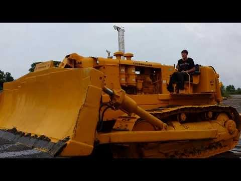 Trying Out A 1958 Caterpillar D9-A