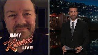 Video Jimmy Kimmel Interviews Super Humble Ricky Gervais MP3, 3GP, MP4, WEBM, AVI, FLV April 2018