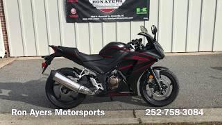 2. 2018 Honda CBR300R
