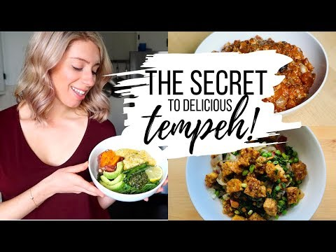 HOW TO COOK TEMPEH & The Secret To Making It Taste Good + Recipes!