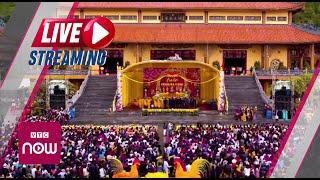 """Họp báo về việc """"thỉnh vong"""" và """"cúng oan gia trái chủ"""" tại chùa Ba Vàng, Quảng Ninh"""