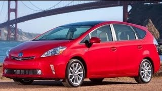2013 Toyota Prius V Start Up And Review 1.8 L 4-Cylinder