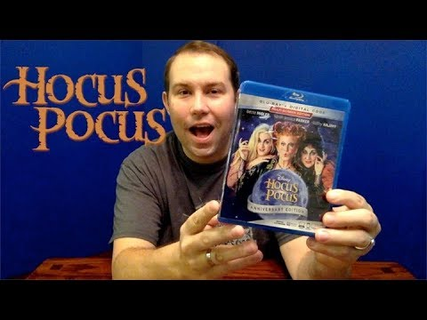 Blu-Ray Unboxing Review: Hocus Pocus Anniversary Edition (2018 Release)