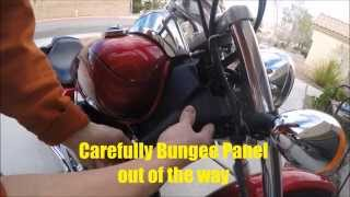8. How to Replace Radiator Coolant 2008 honda Shadow Spirit.motorcycle