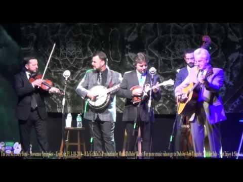 The Del McCoury Band - Suwannee Springfest - Live Oak, Fl  3- 18- 2016