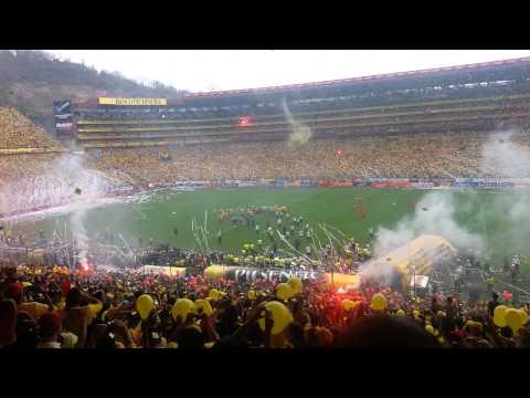 Barcelona vs olmedo, campeón 2012 - Sur Oscura - Barcelona Sporting Club