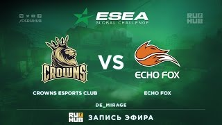 Crowns vs Echo Fox, game 1