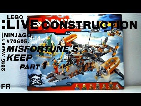 Vidéo LEGO Ninjago 70605 : Le Vaisseau de la Malédiction