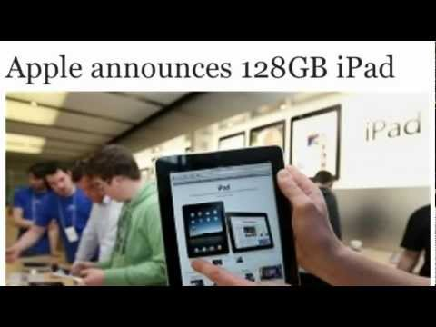 Technology News: Apple Reveals 128GB iPad With Retina Display (4th Gen)