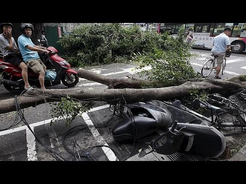 Κίνα-Ταϊβάν: Αντιμέτωπες με τον σούπερ τυφώνα Ντουτζουάν