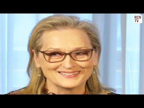 Meryl Streep On The Post & Playing Inspirational Kay Graham