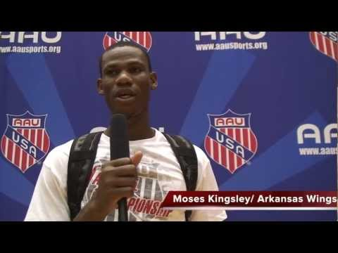 Moses Kingsley: Arkansas Wings Elite