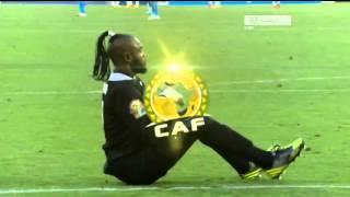 رقصة حارس الكونغو - طرائف الكان 2013