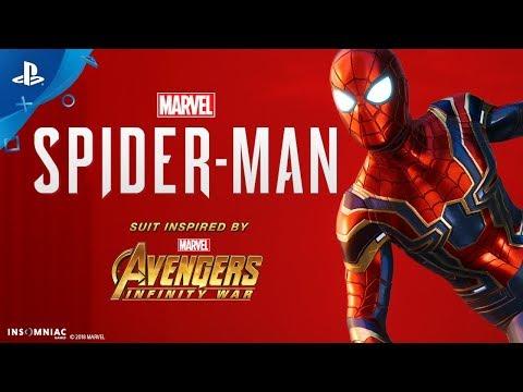Trailer 2 costume Iron Spider de Marvel's Spider-Man