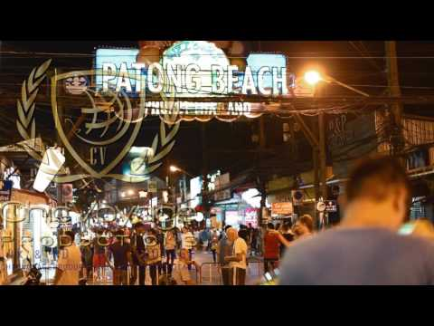 4k and HD Stock footage Patong Thailand Nightlife Stock Footage