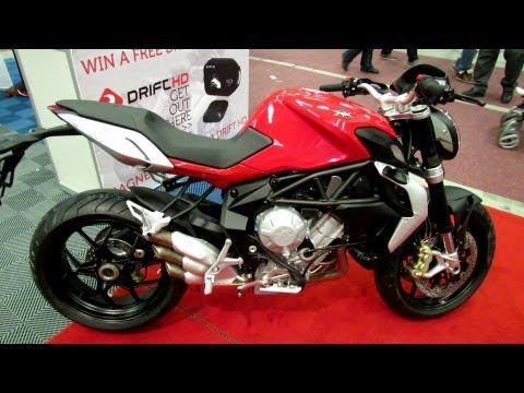 2013 MV Agusta Brutale 675  Walkaround - 2013 Montreal Motorcycle Show