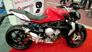 6. 2013 MV Agusta Brutale 675  Walkaround - 2013 Montreal Motorcycle Show
