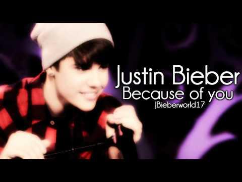 Justin Bieber - Because of You lyrics