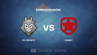 Gambit vs G2, game 2