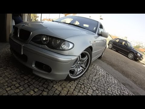 BMW E46 320D brutal loud straight pipe exhaust sound