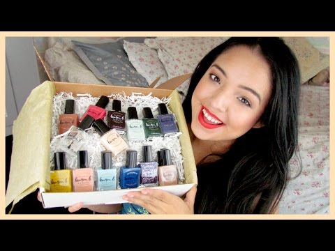 Lauren B Beauty Nail Polish Haul ♡ Eco/Vegan Friendly & 5-Free Polishes