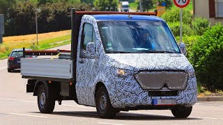 Mercedes continues tests of the new Sprinter, which is expected to be premiered in 2018. The car is built on a modified old platform. The structure of the cabin has remained the same, but the design has been substantially changed - the entire front part is solved in a new corporate style.#newsprinter #spyshots #oldbenz