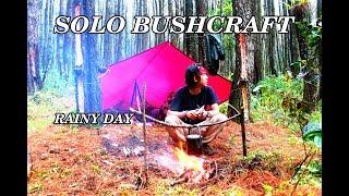 Video SOLO BUSHCRAFT INDONESIA FOREST | RAINY DAY WITH FLYSHEET | EXTERNAL FRAME BACKPACK MP3, 3GP, MP4, WEBM, AVI, FLV November 2018
