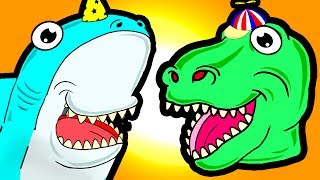 "Video ""My Cute Shark Attack Cartoon #63 (Shark-Copter vs. Dino-Copter!!! BEST OF!!) kids cartoons! MP3, 3GP, MP4, WEBM, AVI, FLV Juli 2017"