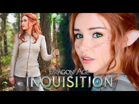 Inquisitor Lavellan Makeup Tutorial - Dragon Age