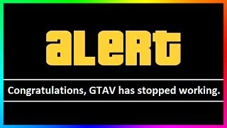 GTA 5 Is Broken? (What Is Going On) - GTA Online Crashes Every 10 Minutes Has The Community Confused!►Cheap GTA 5 Shark Cards & More Games: https://www.g2a.com/r/mrbossftw►Find Out What I record With: http://e.lga.to/MrBoss SOURCES:https://www.reddit.com/r/gtaonline/comments/6n7t7v/pc_tunables_have_just_been_updated_again_crashing/https://www.reddit.com/r/GrandTheftAutoV/comments/6n6env/pretty_much_my_life_today/https://www.reddit.com/r/gtaonline/comments/6n8b8c/am_i_too_late/ (Don't get upset)http://gtaforums.com/topic/891763-gtao-keep-crashing-today/My Facebook: https://www.facebook.com/MrBossFTWMy Snapchat:https://www.snapchat.com/add/MrBossSnapsMy Twitter: https://twitter.com/#!/mrbossftwMy Instagram:http://instagram.com/jamesrosshudginsFollow THE SQUAD:►Garrett (JoblessGamers) - https://www.youtube.com/Joblessgamers►DatSaintsfan - https://www.youtube.com/360NATI0N►MrBossFTW - https://www.youtube.com/MrBossFTWFollow Knifeguy (HE MAKES MY THUMBNAILS):https://www.youtube.com/channel/UCyvCZpUaXfCAYNHscgg8QrQCheck out more of my GTA 5 & GTA 5 Online videos! I do a variety of GTA V tips and tricks, as well as funny moments and information content all revolving around the world of Grand Theft Auto 5: http://www.youtube.com/playlist?list=PL4P1Iz2th7dUuZBXXYz8Wj5G4gQrM4bf1Hope you enjoyed this video! Thanks guys and have an awesome day,Ross.
