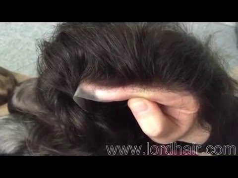 Super Natural Thin Skin Mens Hairpieces Immediate Shipment from Lordhair