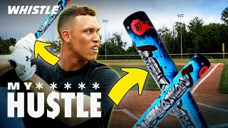 He Makes Custom Bats & Kicks For MLB PLAYERS! 🔥Aaron Judge, Robinson Cano, & MORE! by Whistle Sports