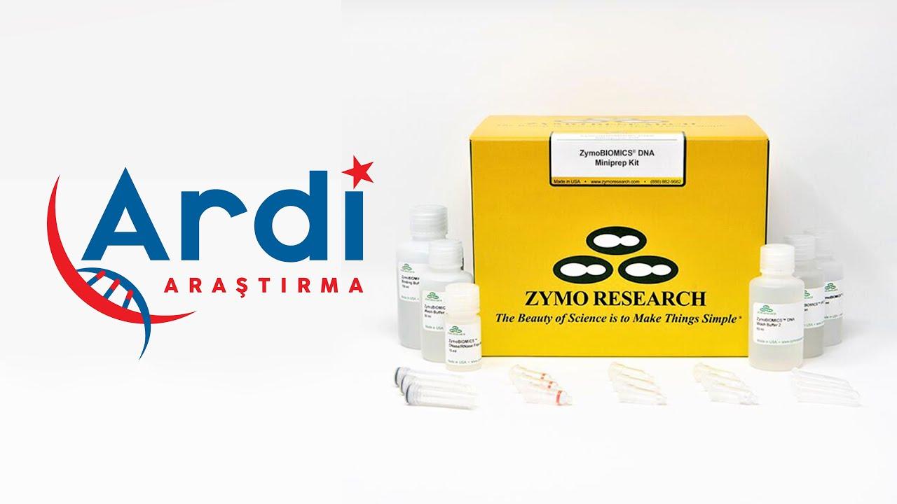 ZymoBiomics DNA Miniprep Kit Deneyi