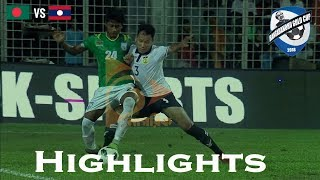 Bangladesh vs Laos - Highlights - Bangabandhu Gold Cup 2018