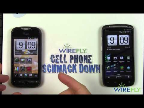 HTC Sensation vs T-Mobile myTouch 4G Slide Schmackdown