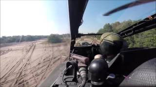 Flight of a dutch apache AH-64D helicopter over the Dutch landscape. This was a goodbye flight to one of the pilots of the Royal Netherlands Air Force. The credits for this movie go to him.