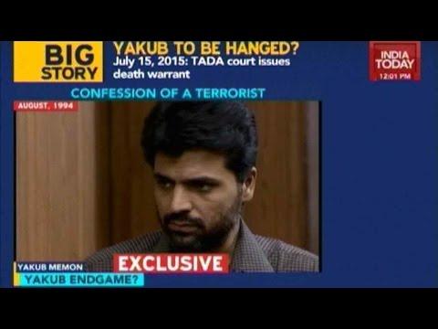 Yakub Memon's Confessions On 1993 Mumbai Blasts
